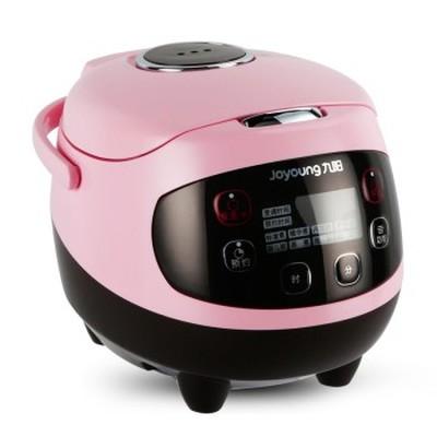 九阳 JYF-20FS62 多功能迷你电饭煲 陶晶内胆 粉色 2L 可预约 可制蛋糕 酸奶 婴儿粥 一锅六用产品图片5