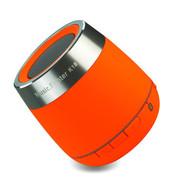 喜木 K18无线蓝牙音箱插卡音箱手机车载迷你音响便携低音炮 橙色 蓝牙音箱标配+双口USB直充