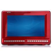 先科 K-918 12.1英寸大屏高清老人看戏机插卡视频播放器电视机(宝石红)