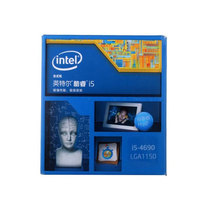 英特尔 酷睿i5-4690 22纳米 Haswell全新架构盒装CPU (LGA1150/3.5GHz/6M三级缓存)产品图片主图