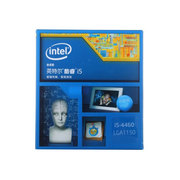 英特尔 酷睿i5-4460 22纳米 Haswell全新架构盒装CPU (LGA1150/3.2GHz/6M三级缓存)