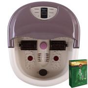 舒派 S8817足浴盆 一键启动全自动按摩加热干湿两用智能模式 洗脚盆泡脚盆足浴器 含30袋 草本足浴液1盒