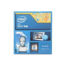 英特尔 奔腾双核 G3420 Haswell 盒装CPU (LGA1150/3.2GHz/53W/双核/3M三级缓存)产品图片主图