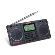 德劲 DE1128H升级版数字选歌点歌便携式全波段老人插卡MP3收音机4G内存 本机标配