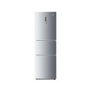 海尔 BCD-216SDN 216升三门电脑版冰箱(银色)