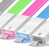 七河 QH-09 收纳发光数据线适用于iphone5/5C/5S QH-09 白色产品图片主图