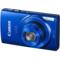 佳能 IXUS155 数码相机 蓝色(2000万像素 10倍光学变焦 2.7英寸液晶屏 连拍3.3张/秒)产品图片1