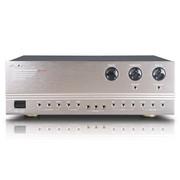 狮乐 k555专业卡拉OK大功率放大器 合并式会议、舞台、KTV卡包专业功放机