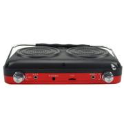 金正 老年人视频播放器M17 7英寸高清看戏机扩音器唱戏机老人晨练广场舞音箱收音机插U盘TF 红色标配