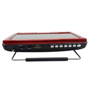 金正 视频播放器M19 9寸高清老人看戏机 扩音器唱戏机收音机可插TF卡大喇叭带提手 红色标配带电视+16G空卡