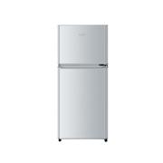 海尔 BCD-118TMPA 118升双门冰箱(银色)