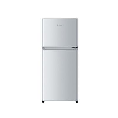 海尔 BCD-118TMPA 118升双门冰箱(银色)产品图片1