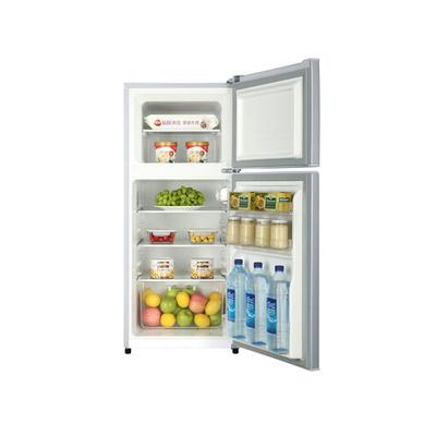 海尔 BCD-118TMPA 118升双门冰箱(银色)产品图片2