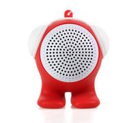 臻晖 SP-1001 蓝牙音响 便携迷你无线音响 低音炮 立体蓝牙小音箱 红色