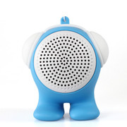 臻晖 SP-1001 蓝牙音响 便携迷你无线音响 低音炮 立体蓝牙小音箱 天蓝色
