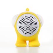 臻晖 SP-1001 蓝牙音响 便携迷你无线音响 低音炮 立体蓝牙小音箱 黄色