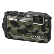 尼康 AW120s 数码相机 迷彩色