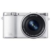 三星 NX3000 微型单电双镜头套装 白色(50-200mm,16-50mm)