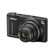 尼康 S9600 数码相机 黑色(1605万像素 22倍光学变焦 44倍动态缩放变焦 魔法修饰 Wifi)