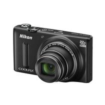 尼康 S9600 数码相机 黑色(1605万像素 22倍光学变焦 44倍动态缩放变焦 魔法修饰 Wifi)产品图片主图