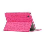 索士 乐pad联想S5000平板电脑皮套 S5000-F保护套 S5000-H专用套 玫红