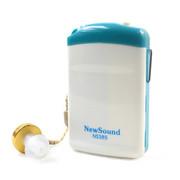 新声 盒式助听器NS385非无线充电中老年人耳聋耳背助听器机