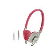 亚力盛 M300i头戴式耳机 线控带麦通话电脑MP3手机立体声重低音彩色可爱耳机 白色
