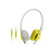 亚力盛 M300i头戴式耳机 线控带麦通话电脑MP3手机立体声重低音彩色可爱耳机 黄色