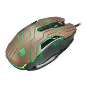 剑圣一族 X10新品牛魔王宏定义可编程版WOW LOL 激战2游戏电竞鼠标 金色