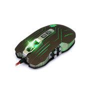 剑圣一族 X9专业游戏鼠标WOW LOL激战2电竞游戏滑鼠 X9 9D可编程宏定义版本