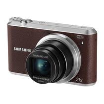 三星 WB351F 数码相机 棕色(1630万像素 3英寸触摸屏 21倍光学变焦 23mm广角)产品图片主图