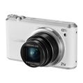 三星 WB351F 数码相机 白色(1630万像素 3英寸触摸屏 21倍光学变焦 23mm广角)
