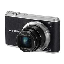三星 WB351F 数码相机 黑色(1630万像素 3英寸触摸屏 21倍光学变焦 23mm广角)产品图片主图
