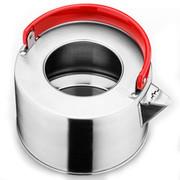 庆展 18CM电磁炉煤气通用时尚优质磨砂不锈钢手提热水壶PH18-D