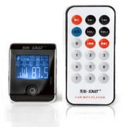 先科 A950 车载MP3播放器 支持U盘拓展 含4G内存 蓝色 41mm*56mm