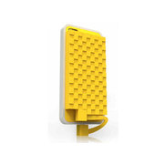 乐泡 像素超薄移动电源 黄色
