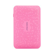 彩虹的梦 7800毫安移动电源 大容量手机充电宝 苹果 三星 HTC 小米 5s通用充电宝 粉色 标配+USB充电头