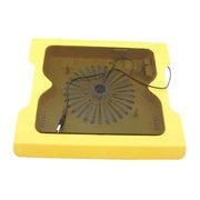 双诺 F-HDW-588A 笔记本散热器 黄色