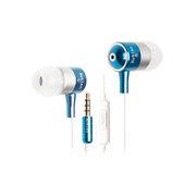 豹勒 X5 线控入耳式手机 激情蓝-有麦版