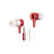 豹勒 X5 线控入耳式手机 亮骚红-有麦版