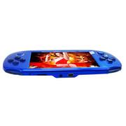 小霸王 PSP游戏机掌机倚天207 4.3寸触屏街机学习功能内置9000款经典游戏可下载 蓝色8G版本+16G卡