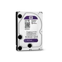 西部数据 紫盘 2TB SATA6Gb/s 64M 监控硬盘(WD20PURX)产品图片主图