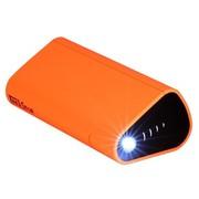 泰克思达 PBF 德国品牌 充电宝10400毫安手机充电宝 便携移动电源 手机平板双充 创意支架 橙色