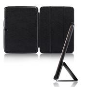 文逸(wenyi) 三星Galaxy tab3 10.1寸 P5200保护套 P5210皮套 p5200皮套 黑色 蚕丝纹
