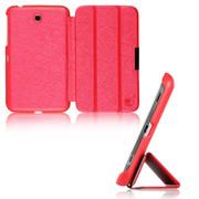 文逸(wenyi) WY 三星Tab3 P3200/3210 T210 T211保护套 时尚耐磨平板电脑皮套 红色