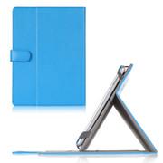文逸(wenyi) WY 10寸平板电脑保护套通用 华为MediaPad 酷比魔方U30GT1 台电X98皮套 天天蓝色 荔枝纹