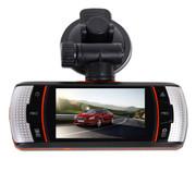 平行线 P158 行车记录仪单双镜头高清广角夜视带监控倒车影像一体机 双镜头P158 无卡送监控线