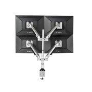 慧想 电脑液晶显示器四屏气压支架 桌面万向旋转升降S400 承重9-21kg