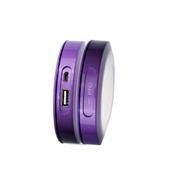 乐木 LOMUI L441车载移动电源 女士手机便携移动充电宝4400毫安 安全聚合物电池 水晶紫