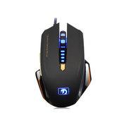 新盟 曼巴狂蛇 M393 有线 游戏鼠标 宏定义编程鼠标 USB 鼠标 黑色